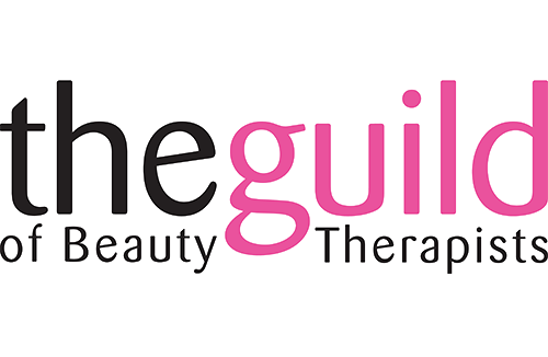 An image of the guild of beauty therapists logo.
